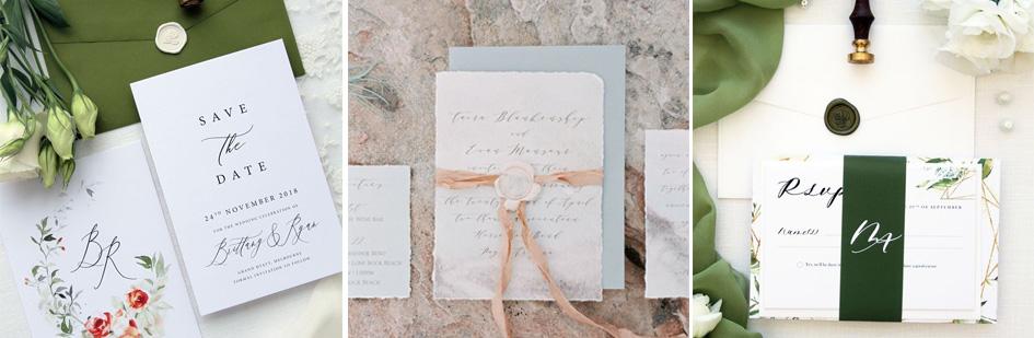 invitatie de nunta elegante